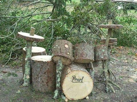 early drum set